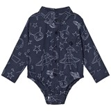 Andy & Evan Navy Galaxy Print Shirtzie