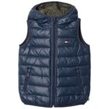 Tommy Hilfiger Blue Reversible into Khaki Down Gilet