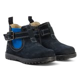 Primigi Navy and Blue Chelsea Boots