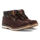 Tommy Hilfiger Brown and Grey Padded Ankle Boots