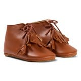Easy Peasy Brown Fringe Meximoo Shoes with Anti Slip Sole