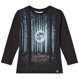 Molo Rexol T-shirts LS Moon in the woods