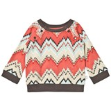 The Little Tailor Multi-colour ZigZag Sweat Top