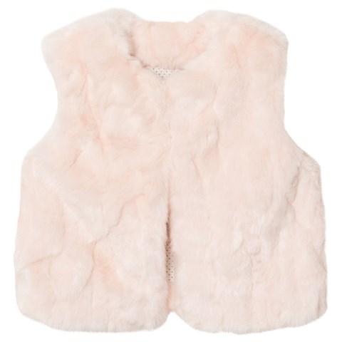 The Little Tailor Pink Baby Girls Gilet