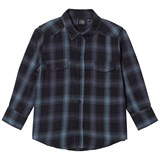 Petit by Sofie Schnoor Black and Blue Check Shirt