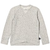 NUNUNU Light Grey Deconstructed Sweatshirt