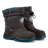 Naturino Grey and Blue Varna Waterproof Boots