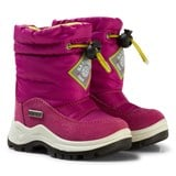 Naturino Pink and White Varna Waterproof Boots