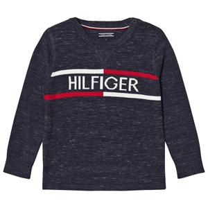 Tommy Hilfiger Navy Branded Sweater 6 years
