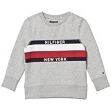 Tommy Hilfiger Grey Hilfiger New York Jumper