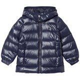 Ralph Lauren Blue Down Feather Hooded Jacket