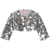 Holly Hastie Silver Jackie Sequin Sort Jacket
