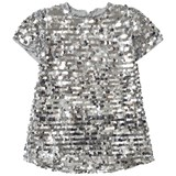 Holly Hastie Coco Silver Super Sequin Dress