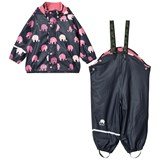 Celavi Rainwear -Aop W. Fleece W. Printed Jacket Rapture Rose