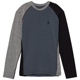 Peak Performance Blue Long-Sleeved Base Layer Top
