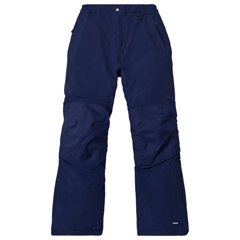 2a2f65159632 Lands  End Navy Girls Waterproof Squall Snow Pants