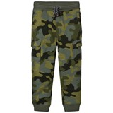 Lands' End Green Iron Knee Printed Cargo Joggers