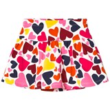 Lands' End Hearts Print Knit Skort