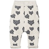 Tootsa MacGinty Grey Wolf Print All Over Quilted Sweatpants