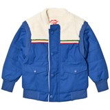 Tootsa MacGinty Blue Faux Sheepskin Fleece Reversible Jacket