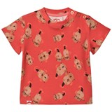 Tootsa MacGinty Red Otter Print All Over T-Shirt