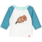 Tootsa MacGinty Otter Blue Contrast Sleeves T-Shirt