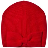 Ralph Lauren Red Bow Skull Hat