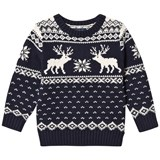Ralph Lauren Navy Reindeer Sweater