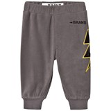 The BRAND Fleece Pant Graphit Grey With Black Leather Bolt