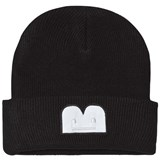 The BRAND Knit Hat Black With Reflex B-Moji