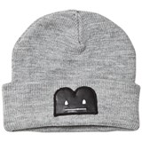 The BRAND Knit Hat Grey Mel With Reflex B-Moji