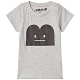 The BRAND B-Moji Tee Grey Mel With Black B-Moji