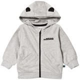 The BRAND Baby Face Hoodie Grey Mel With Face