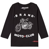 The BRAND Moto Club Tee Black