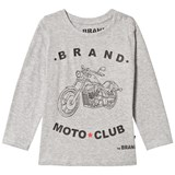 The BRAND Grey Moto Club Tee