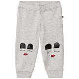 The BRAND Baby Face Pant Grey Mel With Face