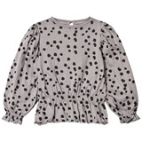 The BRAND Princess Top LS Grey Dot