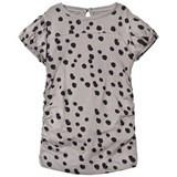 The BRAND Draped Tee Grey Dot