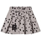 The BRAND Grey Dot Plisé Skirt