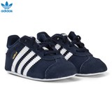 adidas Originals Navy Gazelle Crib Trainers