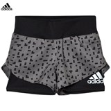 adidas Performance Grey Printed Running Shorts