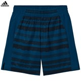 adidas Performance Navy Printed Training Shorts