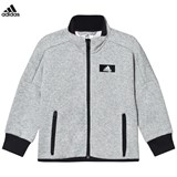adidas Performance Grey Full Zip Track Top