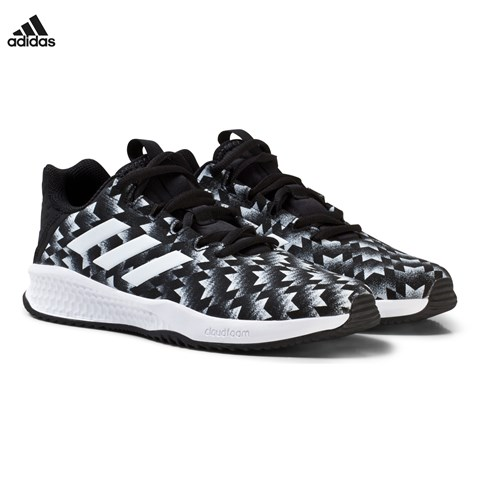 adidas Performance Black Rapida Man U Kids Trainers