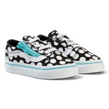 Vans TD Old Skool Zip (Polka Dot) black/blue radiance