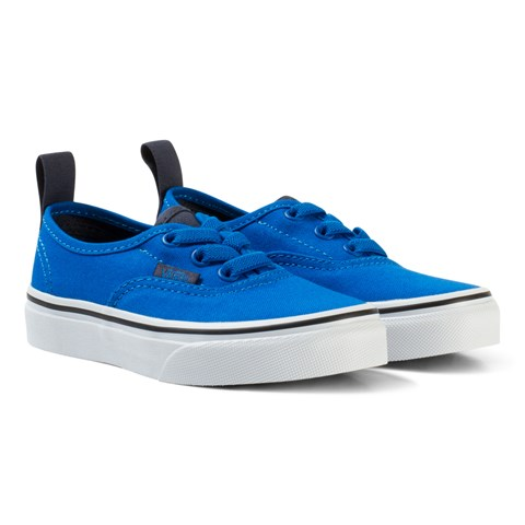 55f54c57209b Vans Electric Blue UY Authentic Elastic Lace Pumps