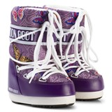 Moon Boot Mb Jr Butterfly Violet