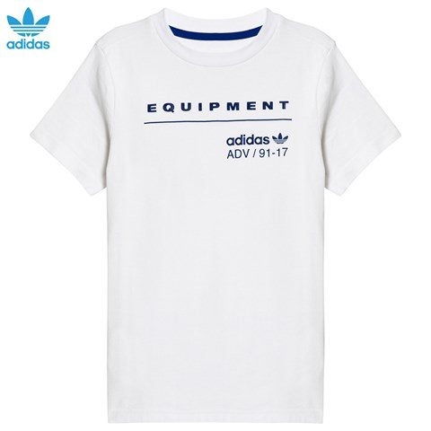 adidas Originals White Equipment T-Shirt