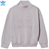 adidas Originals Grey Logo Crew Jumper