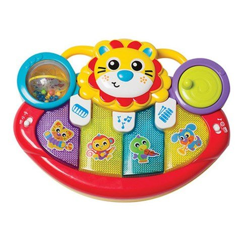 Playgro Lion Activity Kick Toy Piano